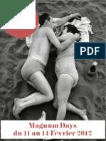 In Love With Magnum - Communiqué de presse