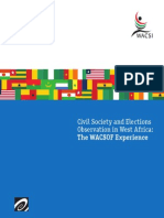 WACSOF Elections Observation Report (English)