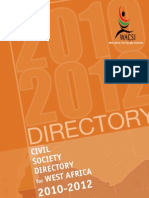Regional Civil Society Directory of Civil Society in West Africa
