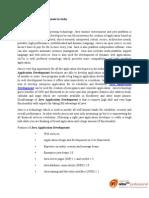 Java Application Development in India