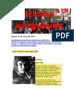 Noticias Uruguayas lunes 30 de Enero de 2012