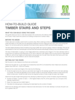 Building Timber Steps