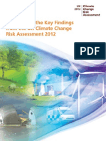 Summary of the key findings from the CCRA 2012