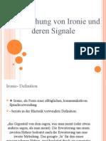 Untersuchung Von Ironie Und Deren Signale_MARTINSansicht