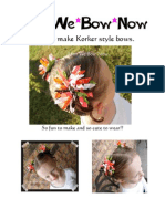 How to Make Korker Hairbows