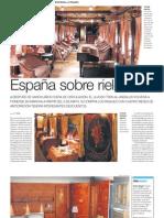 Tren de Lujo en España Al-Andalus vuelve a recorrer Sevilla, Córdova, Granada