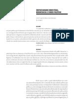 Bresser_Pereira e Diz_Empresariado industrial-Democracia e Poder Pol+¡tico_Novos Estudos CEBRAP_2009_1-¬Aula_TEXTO_III