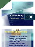 Epidemiologi_Bencana