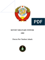 Soviet Military Power 1985 - Forces For Nuclear Attack