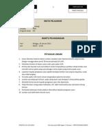 Simulasi Soal Un Sosiologi 2012