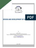 Design and Development of Screw Press