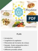 Congélation et surgélation des aliments
