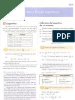 Matemática dante logaritimos
