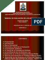 Presentación Manual de los Aprendizajes 2011