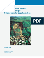 Usgs - National Landslide Hazards Mitigation Strategy