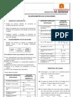 RM 4TO AÑO SEMANA 02 Planteo_Ecuaciones PROF. LUIS COTTOS
