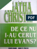 Agatha Christie- De Ce Nu I-Au Cerut Lui Evans