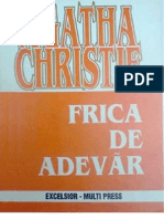 Agatha Christie- Frica de Adevar