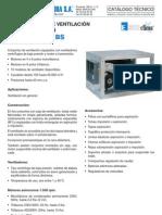 Tec CV04001 CV06404 CajasVentilacion BV BS