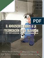 El Adolescente frente a la mecanización de la televisión y su influencia en el aprendizaje  http://www.identidad.ccd.ec/    best books of america.
