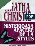 Agatha Christie- Misterioasa Afacere de La Styles