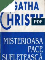 Agatha Christie- Misterioasa Pace Sufleteasca
