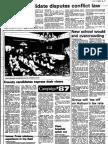 Newspaper Auburn NY Citizen Advertiser 1987 - 6076