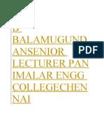 Heat and Mass Transfer Balamurgan Notes