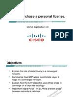 CCNA Exp3 - Chapter05 - STP