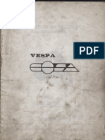 Manual Despiece Vespa Cosa