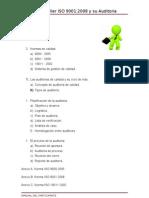Curso Taller ISO 9001 2008 y Su Auditoria