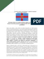 DECLARACIÓN INSTITUCIONAL DE ÊTÔMBÂ Â NDÔWÉ