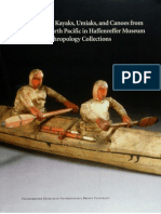 MODEL KAYAKS, UMIAKS AND CANOES FROM THE NORTH PACIFIC in the Haffenreffer Museum of Anthropology Collections