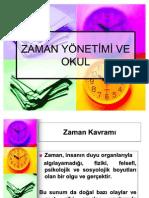 2010- 2011 SINIF YÖNETİMİ SUNUMU 9 - ZAMAN YÖNETİMİ VE OKUL