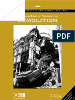 BS 6187 Code of Practice for Demolition