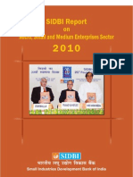 SIDBI Report on MSME Sector, 2010