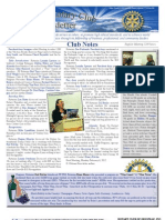 Rotary Newsletter Jan 30