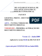 Roteiro de Análise Funcional de PAF ECF 06 2009