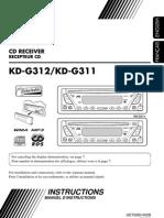 Ghid de Folosire JVC KD-G311