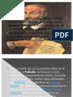 Presentacion de Secuencia Andrea Palladio