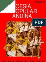 01. Poesía popular andina. Ecuador, Perú, Bolivia, ChileI