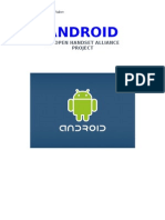ANDROID Operating System Seminar Report