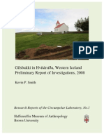 No. 1  Gilsbakki in Hvítársí›a, Western Iceland Preliminary Report of Investigations