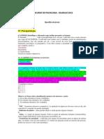 CONCURSO DE PSICOLOGIA - QUESTÕES DE PROVA