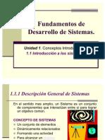 11 Fundamentos de Desarrollo de Sistemas