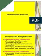 BAB III Norma Dan Etika Pemasaran - APB