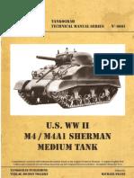 Technical Manual N6001 - M4-M4A1 Sherman - 2005