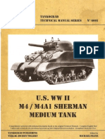 Technical Manual N6001 - M4-M4A1 Sherman - 2005
