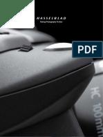 catálogo de productos Hasselblad 2012