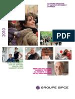Rapport Annuel BPCE2010